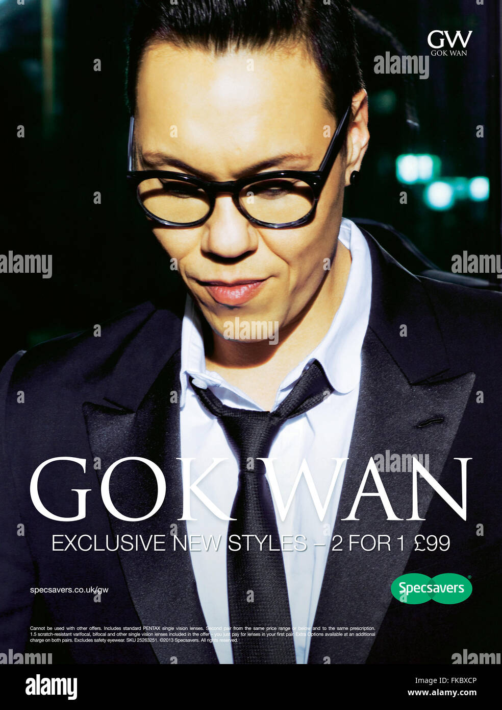 2010s uk specsavers magazine advert stock photo royalty 2010s uk specsavers magazine advert