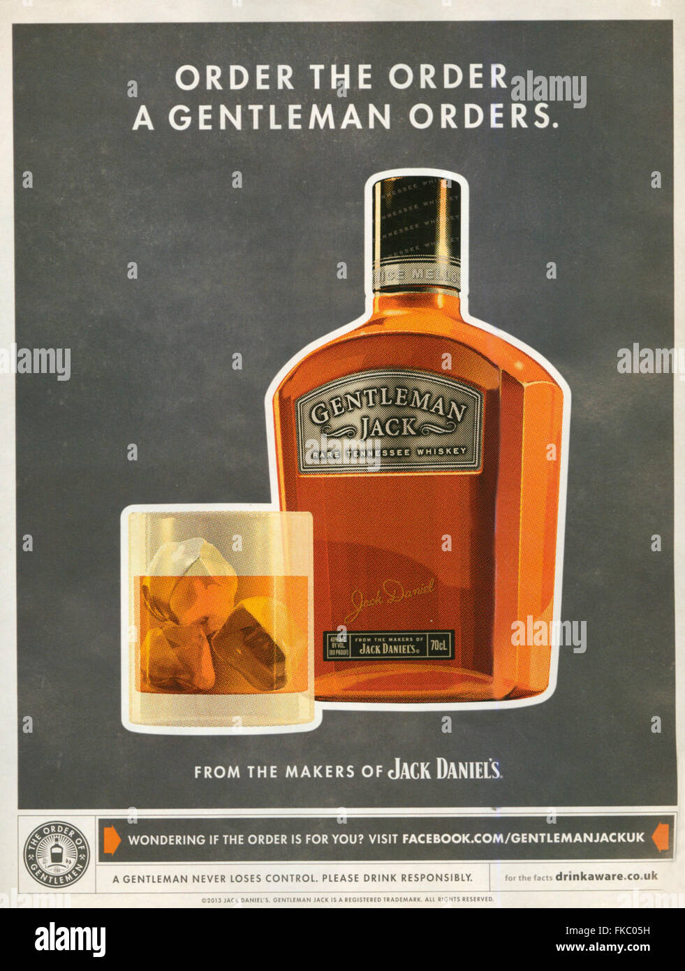2010s uk jack daniel s magazine advert stock photo royalty 2010s uk jack daniel s magazine advert stock photo