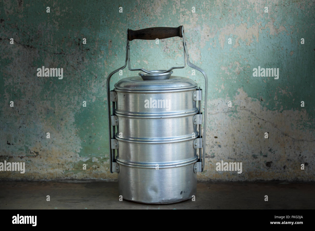food containers at asian kitchen, still life Stock Photo, Royalty ...