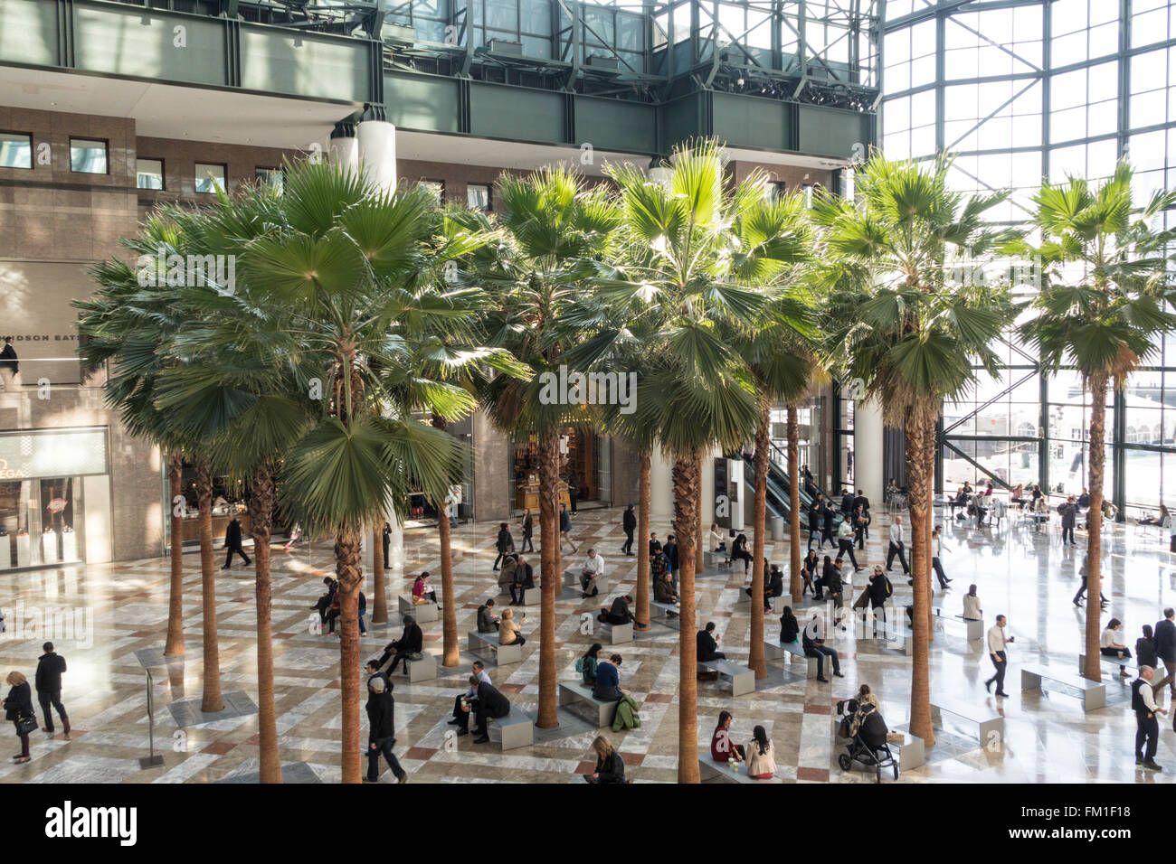 The Winter Garden Atrium Brookfield Place In Battery Park City