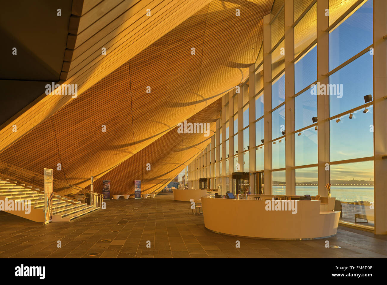 Kilden Theatre and Concert hall in Kristiansand, designed by ALA Stock Photo: 98486879 - Alamy