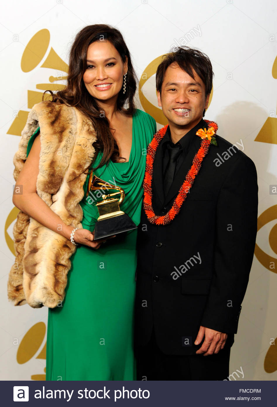 Tia Carrere and daniel ho