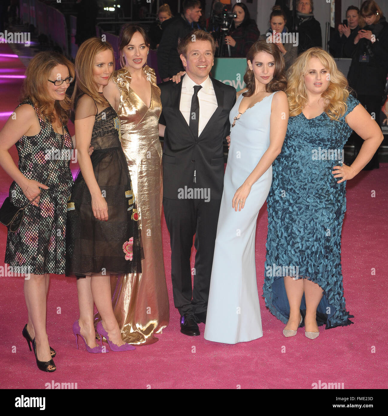 Film Premiere Of How To Be Single Held At Vue Leicester Square Featuring:  Dana Fox