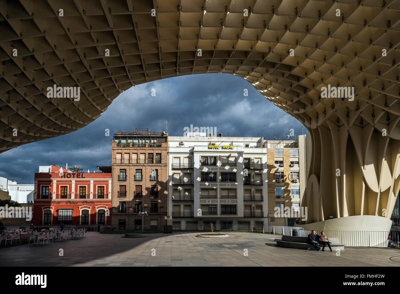 Metropol parasol the world s largest wooden structure - Metropol Parasol Wooden Structure Seville Andalusia Spain