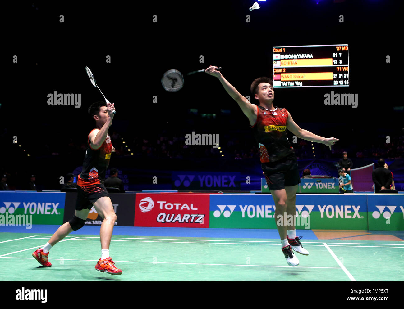 Birmingham 12th Mar 2016 Goh V Shem L Tan Wee Kiong of