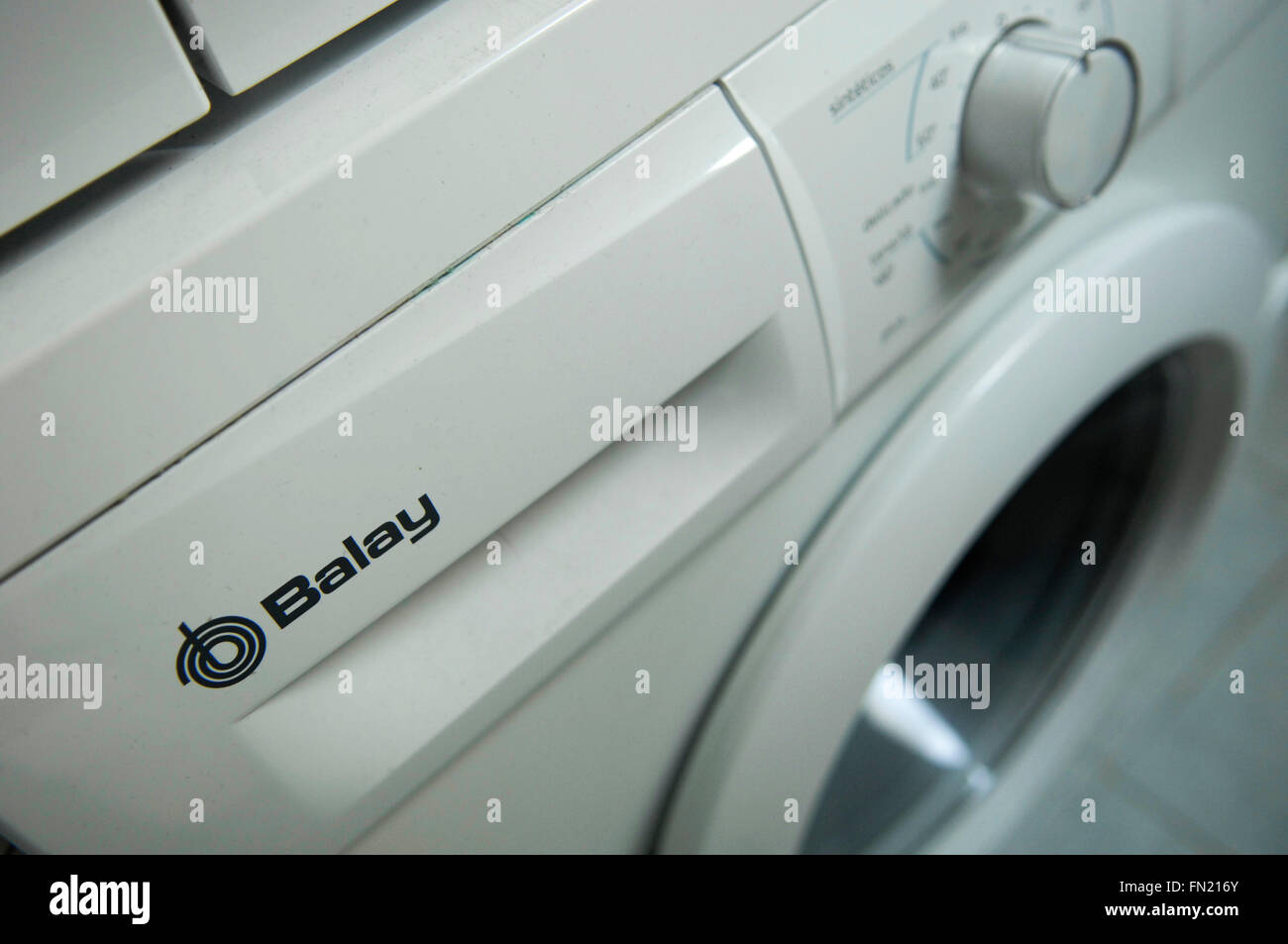 Washing machine logo stock photos washing machine logo stock balay washing machine stock image buycottarizona Choice Image