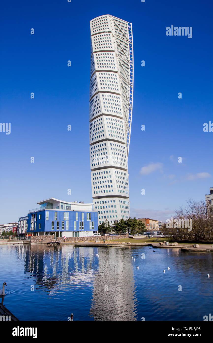 Malmo Turning Torso, most famous skyscraper in Scandinavia ...