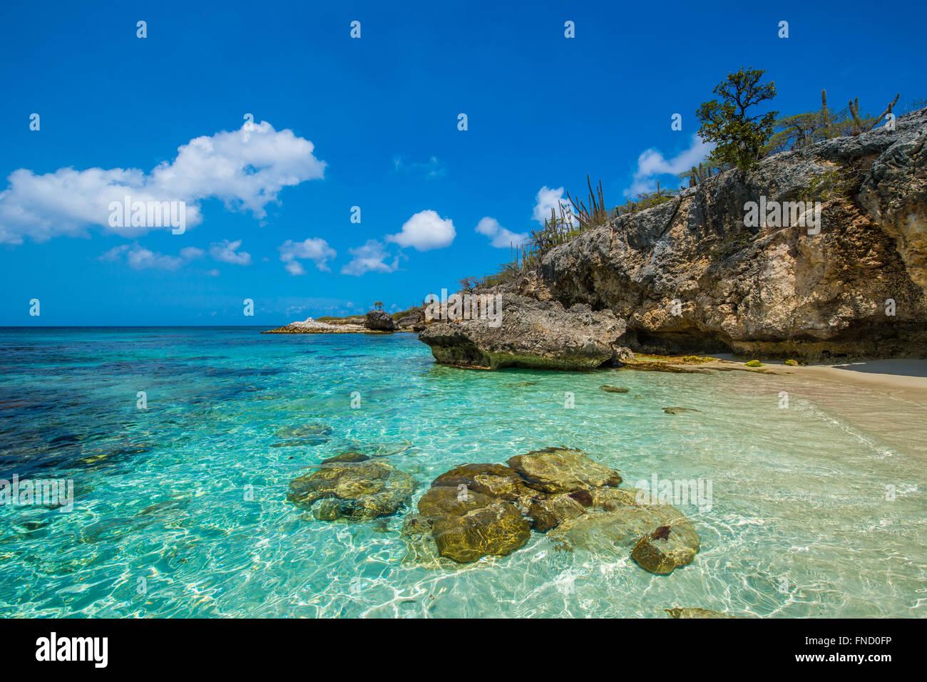 Wayaka Beach At Bonaire In National Park Washington Slagbaai Is One Stock Photo Royalty Free