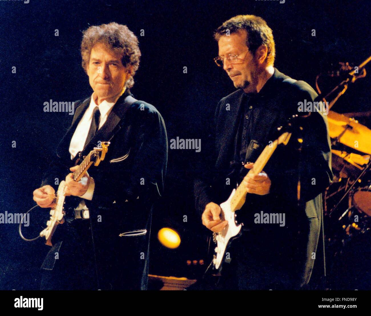 Eric Clapton And Friends To Benefit The Crossroads Centere In Stock Photo Royalty Free Image