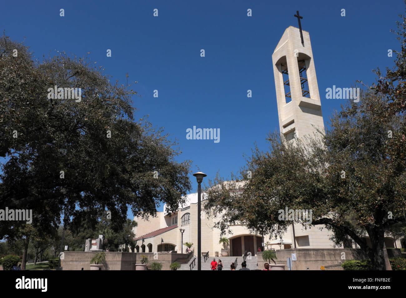 Basilica of our lady of san juan del valle national shrine at san juan texas usa