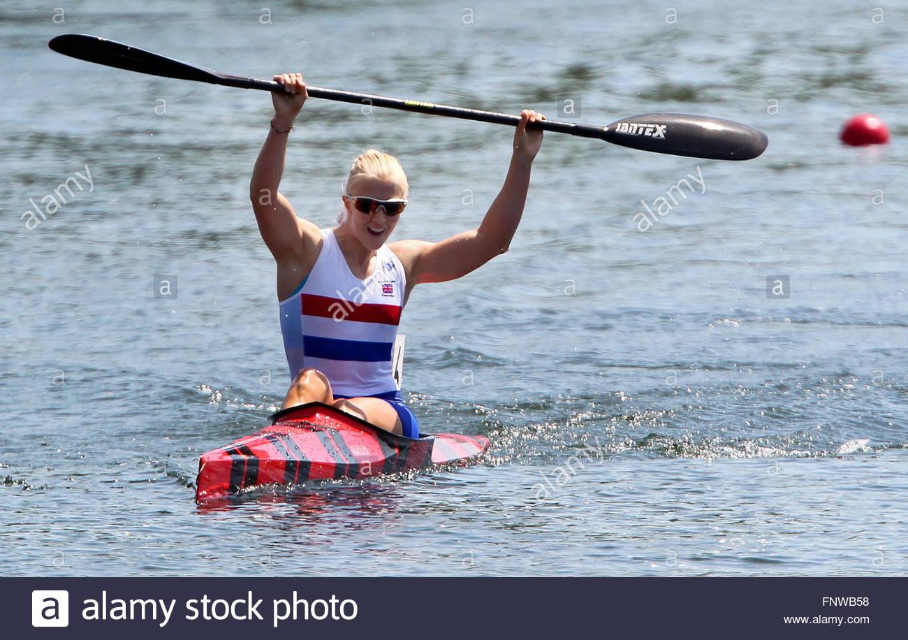 Rachel Cawthorn kayak