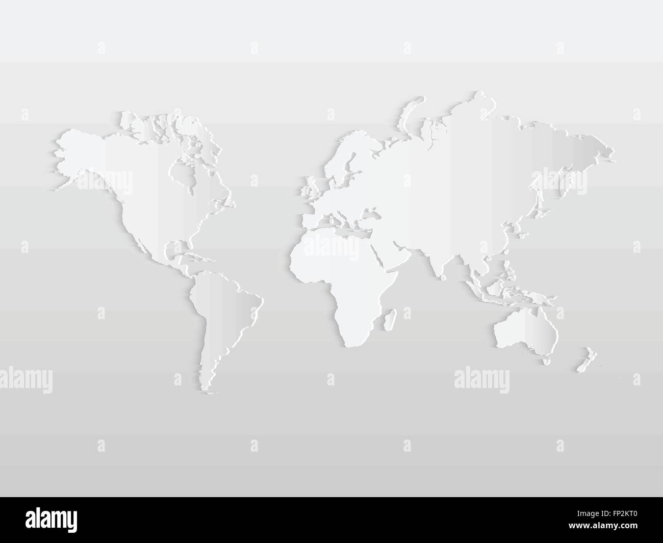 Illustration of a paper world map on a light background stock illustration of a paper world map on a light background sciox Image collections