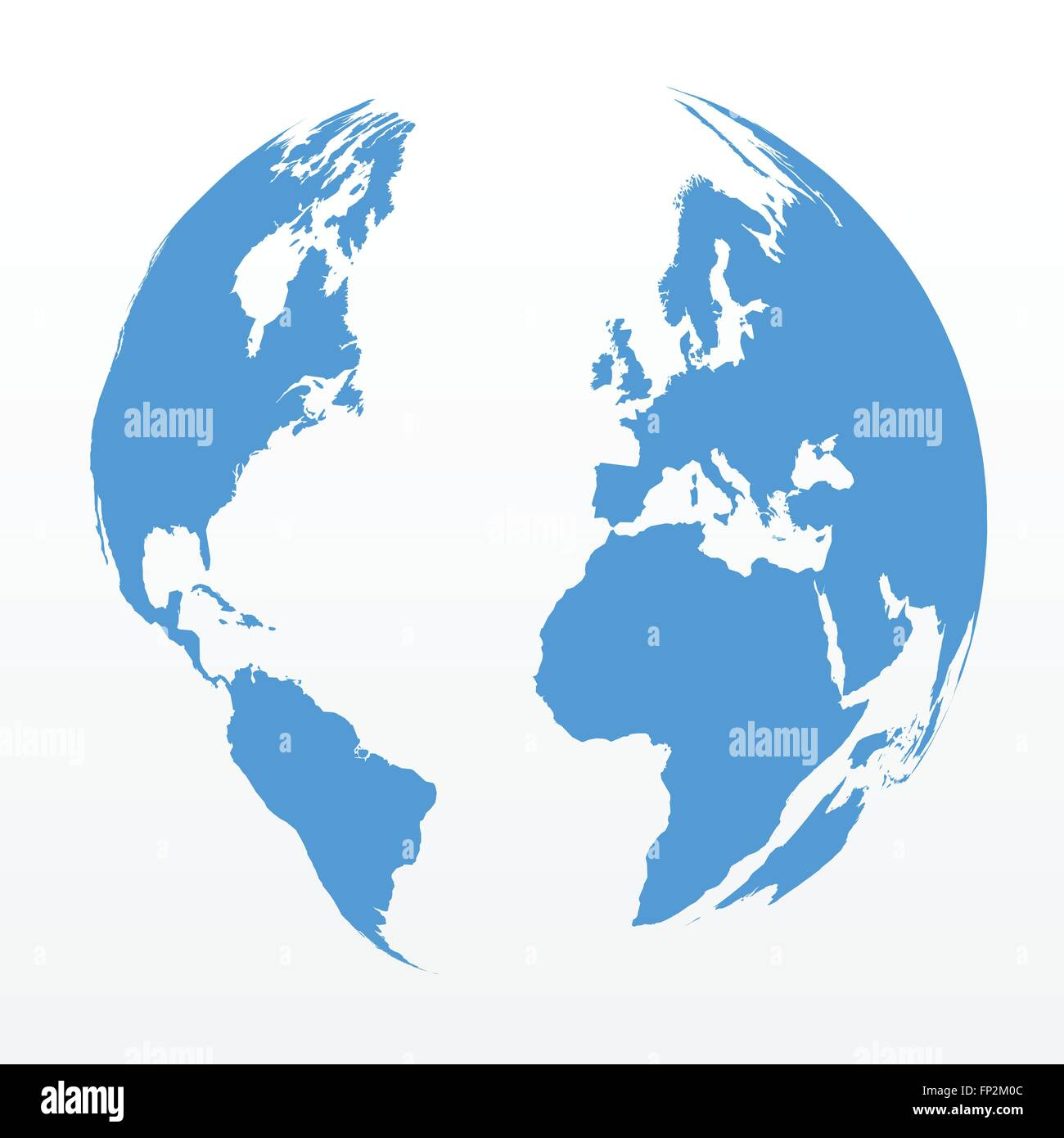 Illustration of a world map sphere isolated on a white background illustration of a world map sphere isolated on a white background gumiabroncs Images