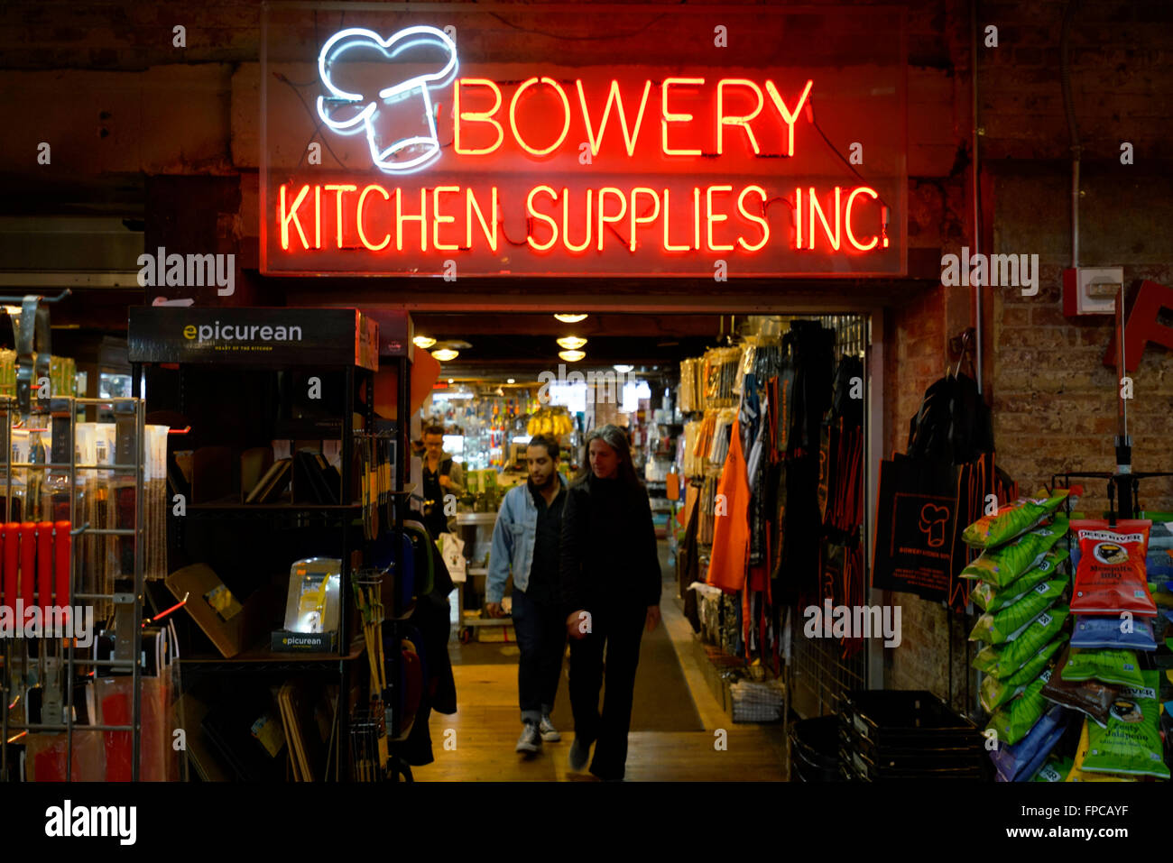 Lovely Bowery Kitchen Supplies Inc In Chelsea Market, Meatpacking District,  Manhattan, New York City, USA