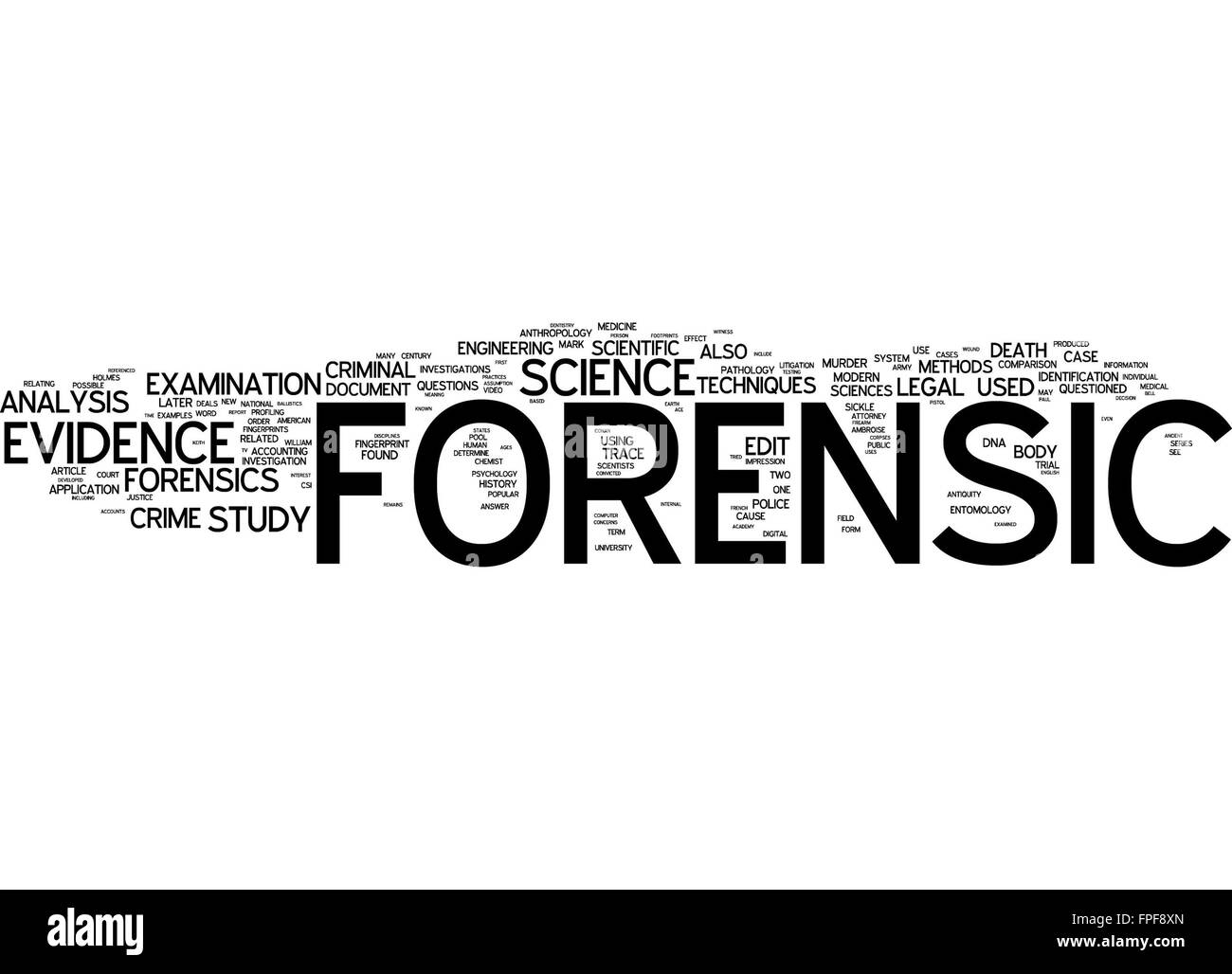 what is forensic science The csi effect has led american jurors today to expect a constant parade of forensic evidence during trials and to refuse to believe that this evidence might ever be faulty photo by monty.