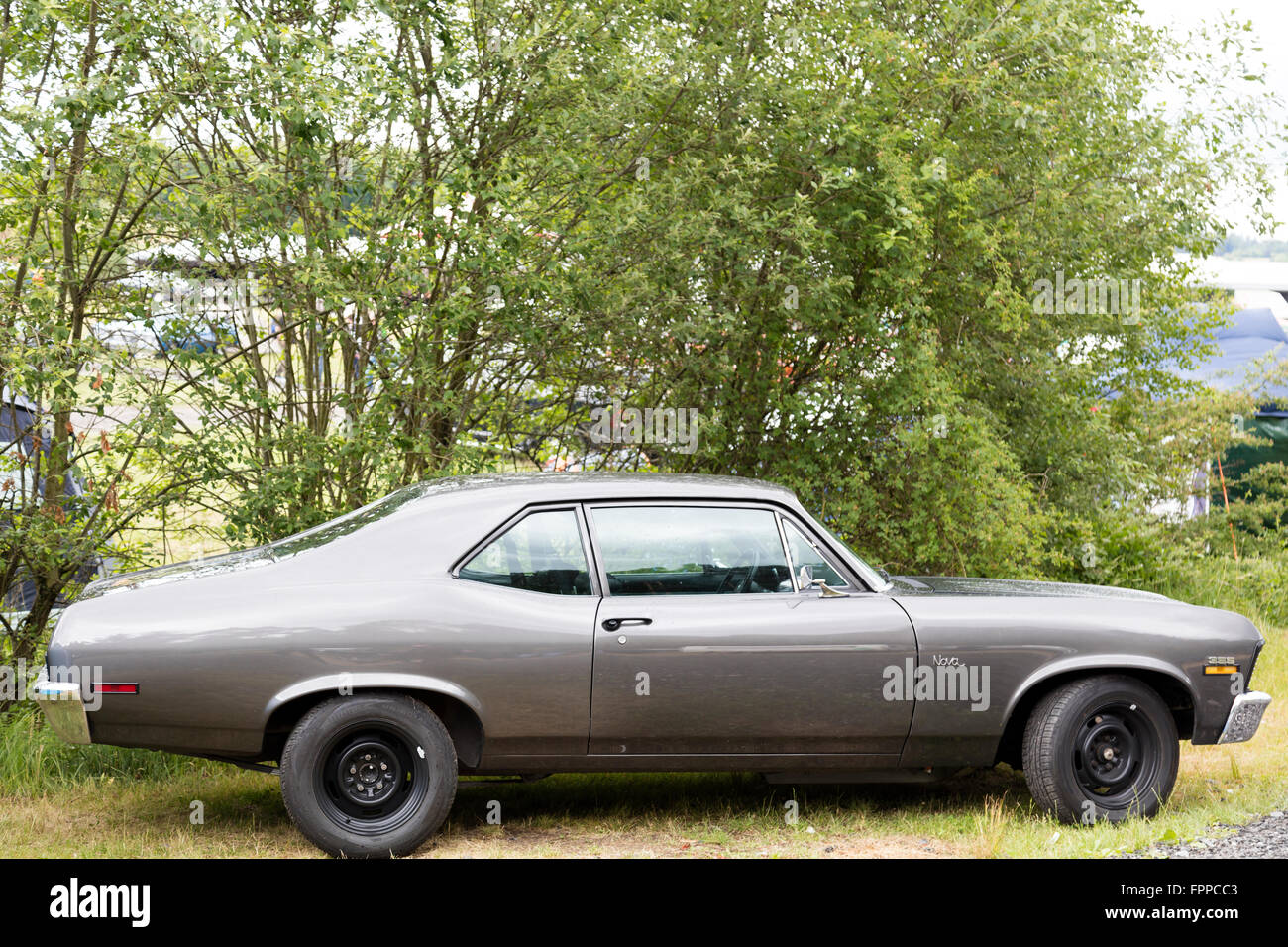 Us Vintage Car Side View Stock Photo Royalty Free Image