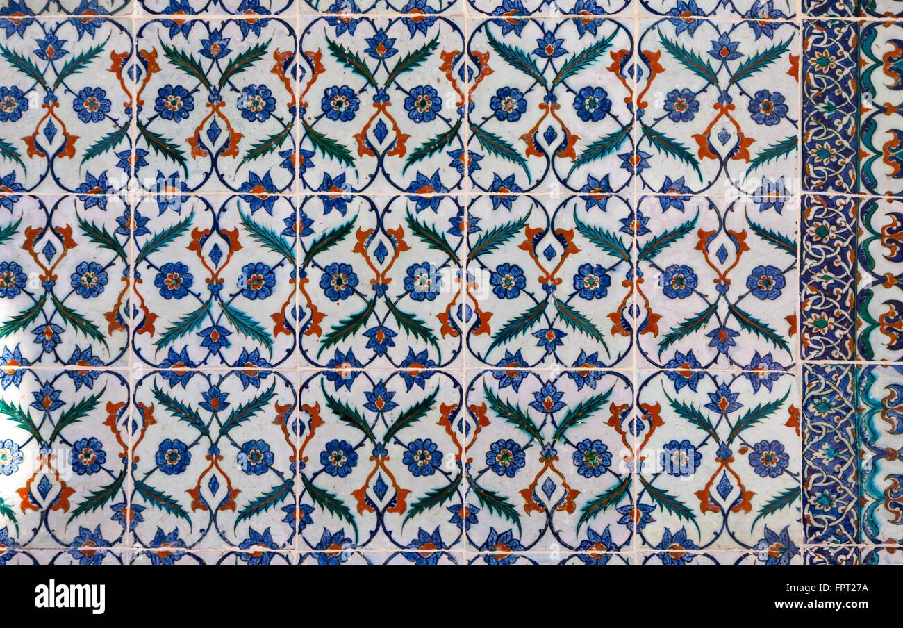 Turkish floor tiles