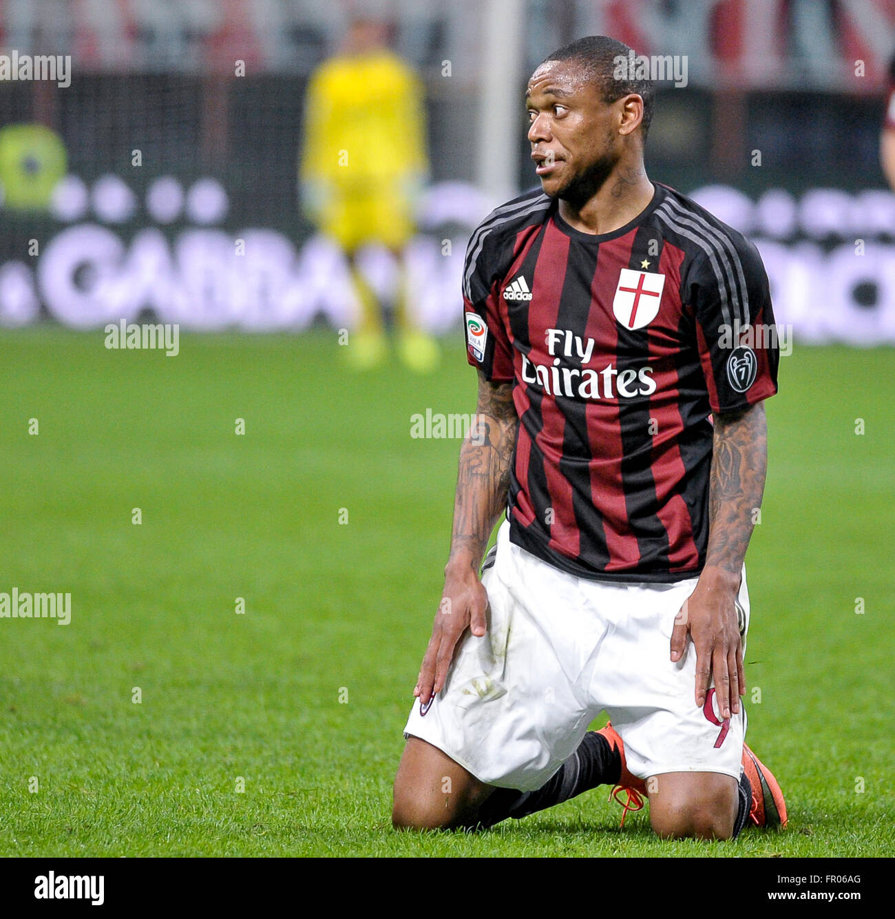 Milan Italy 20th Mar 2016 Luiz Adriano during the Serie A