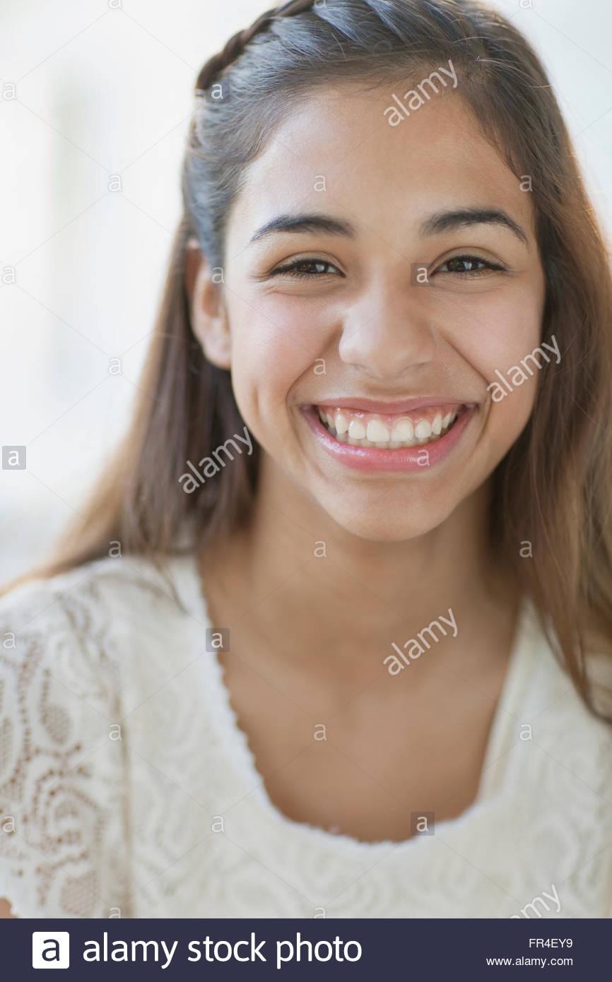 Petite latina facial