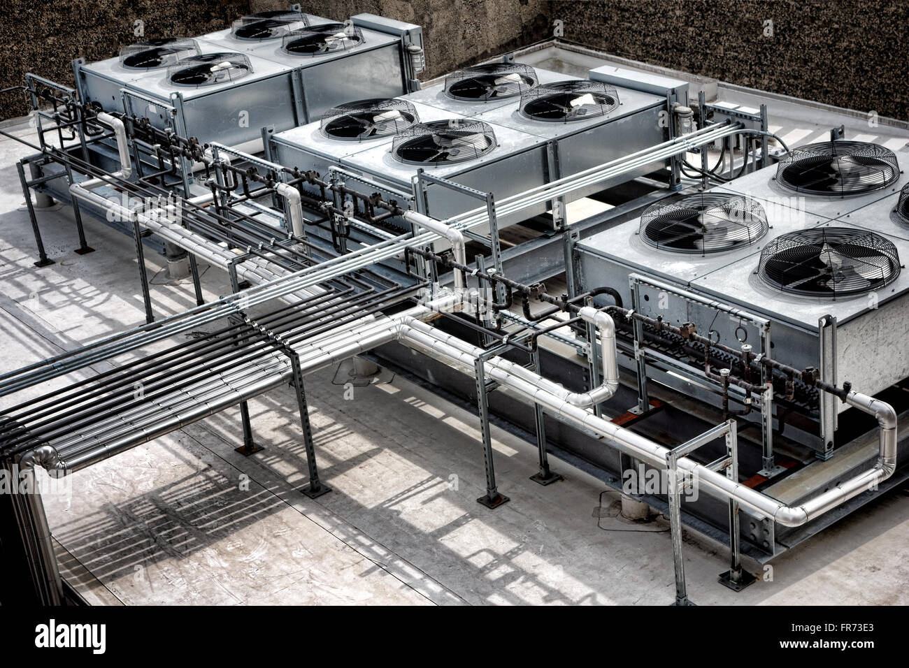 commercial cooling hvac air conditioner compressor fan unit