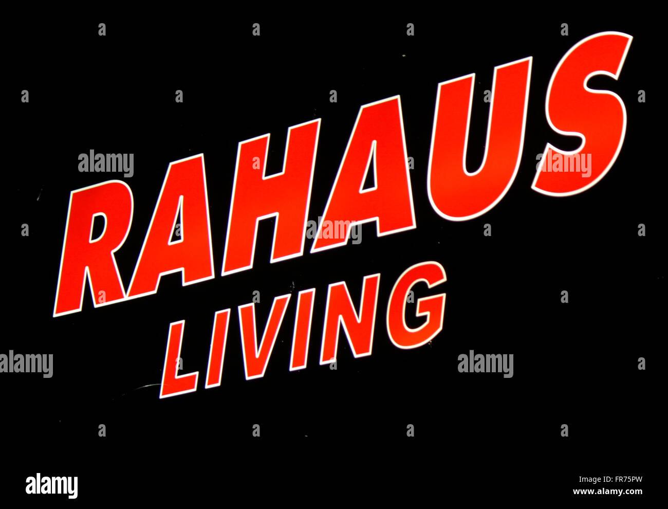 Rahaus Berlin markenname rahaus living berlin stock photo royalty free image
