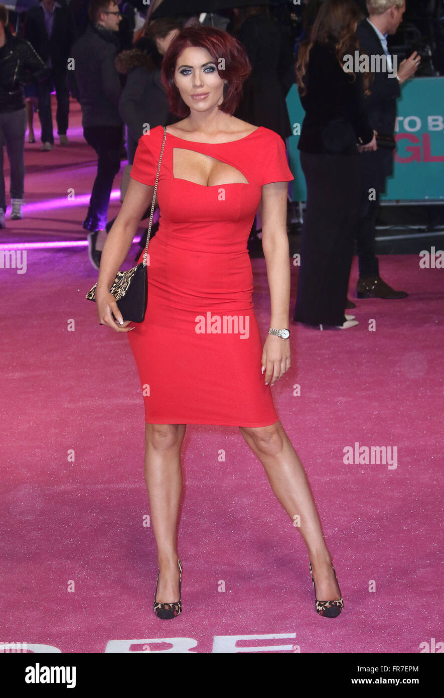 February 9, 2016  Amy Childs Attending 'how To Be Single' European Premiere