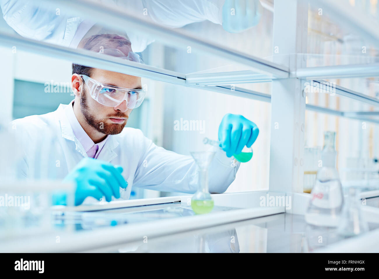 Scientific experiment Stock Photo, Royalty Free Image: 100663722 ...