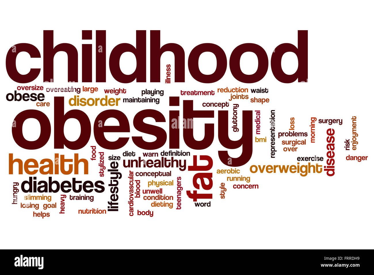 the growing concern of obesity in children and the link between child obesity and inactivity Childhood obesity is a condition where compared to non-obese children physical inactivity as a child could while an issue of growing concern.