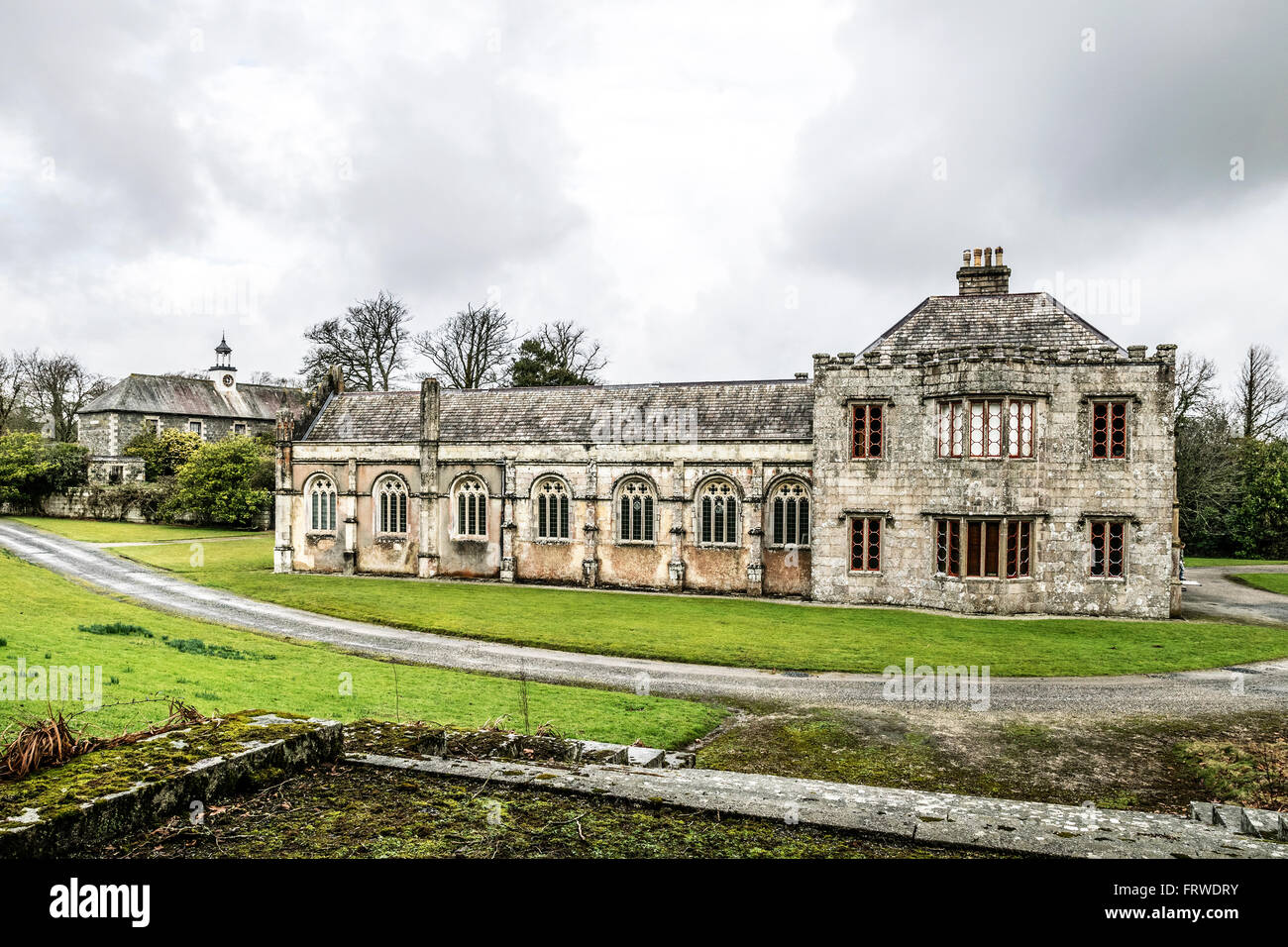 The old mansion house at the trelowarren estate near for A mansion house