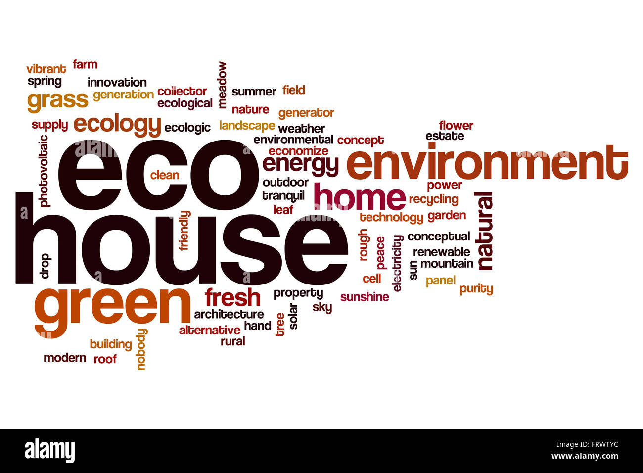 Eco house word cloud Stock Photo, Royalty Free Image: 100757312 ...
