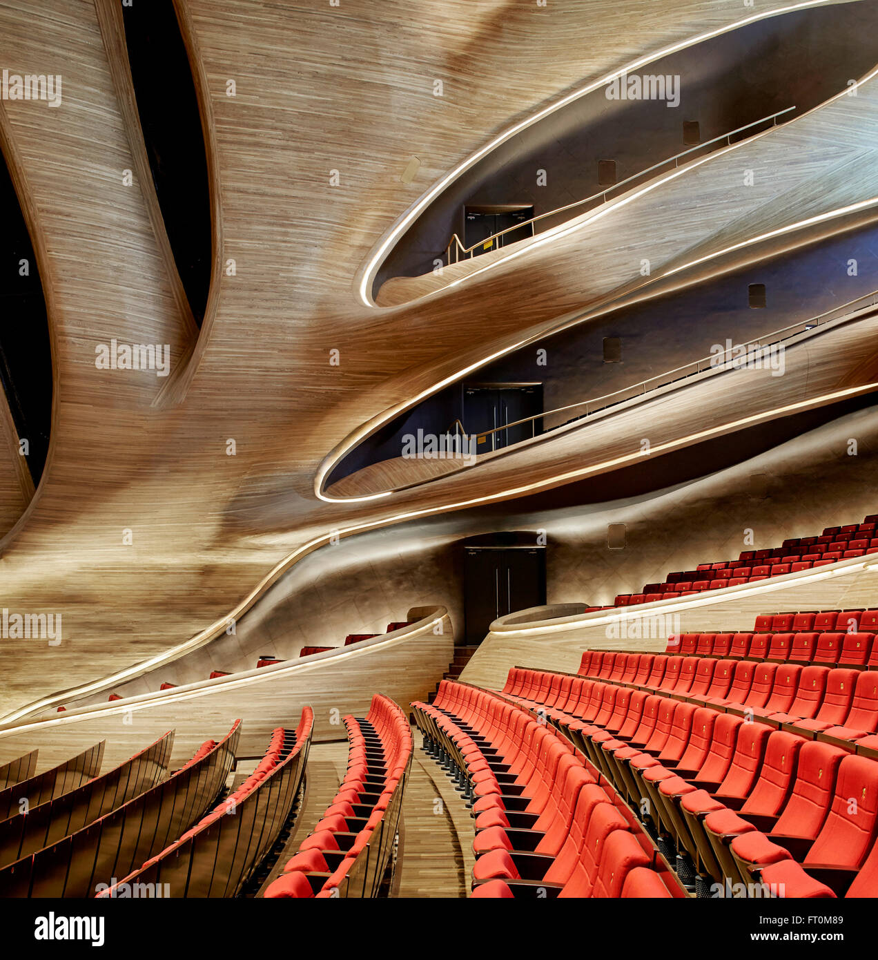 multi storey grand theatre interior stock photos & multi storey
