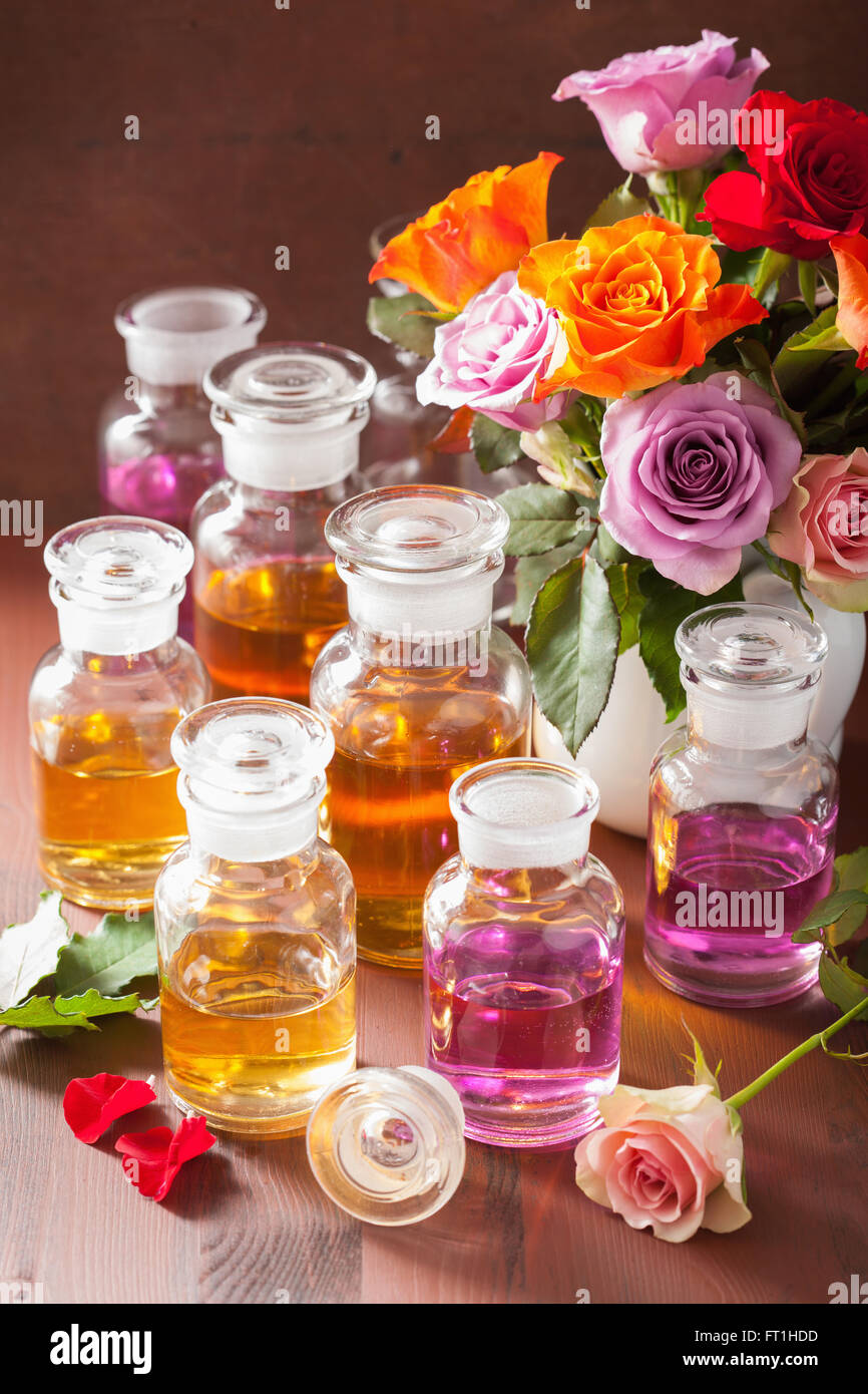 Essential flower oil