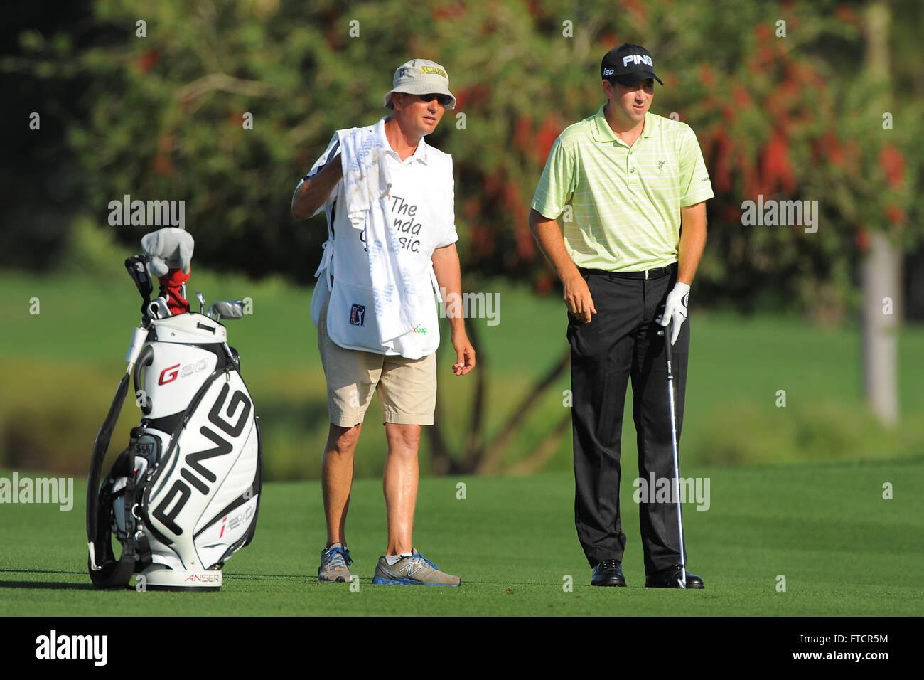 Palm Beach Gardens, Fla, USA. 2nd Mar, 2012. Michael Thompson and ...