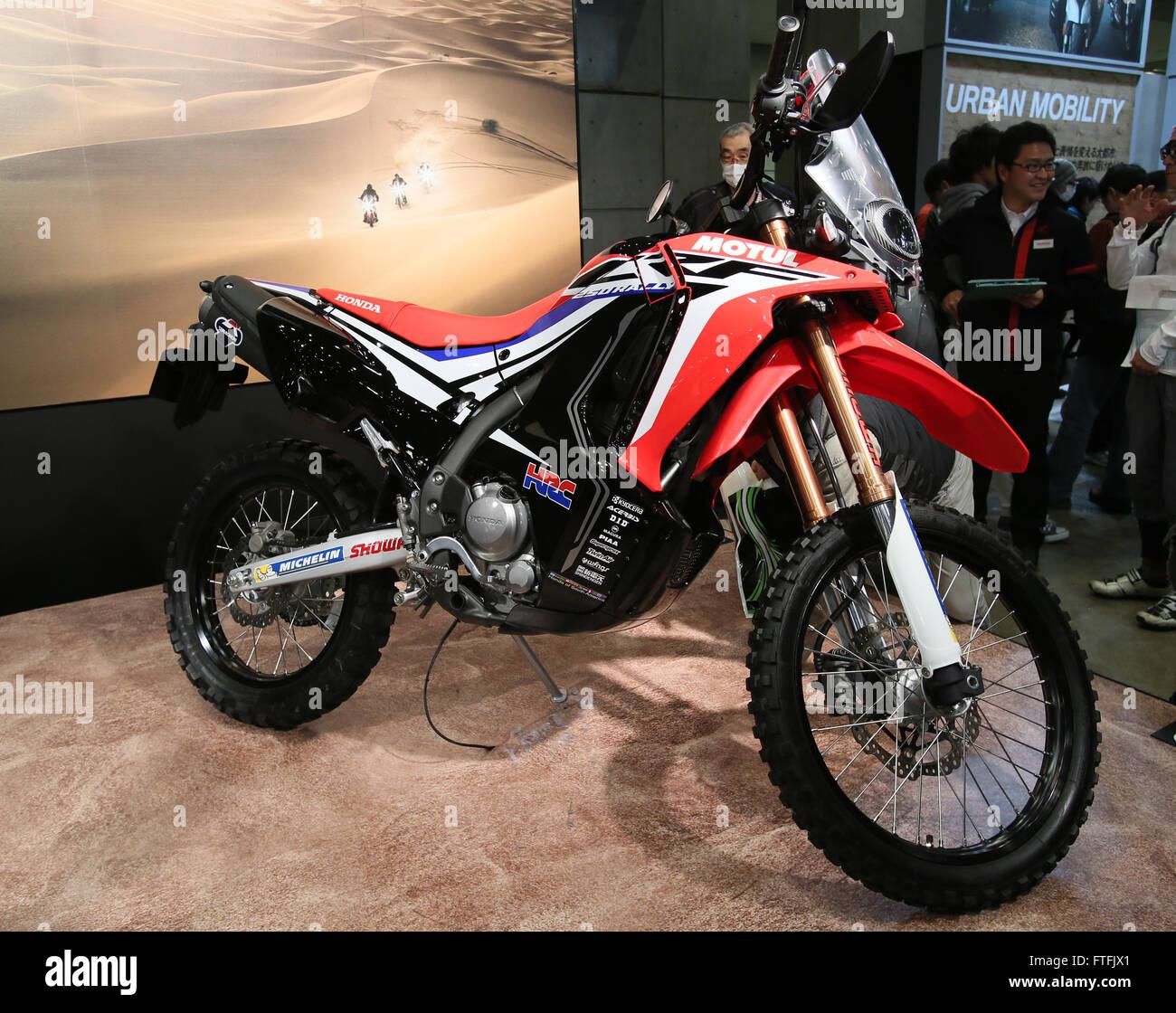 Tokyo japan 27th mar 2016 japanese motorcycle giant for Honda motor company stock