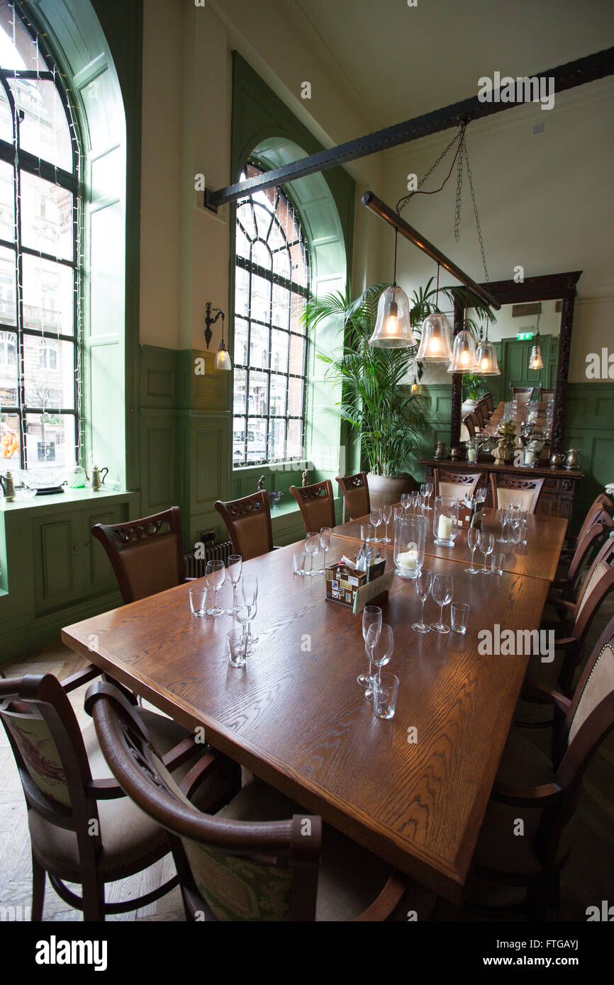 private dining room in the trading house bar/restaurant/pub in