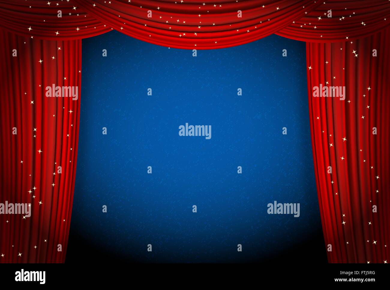 Theater curtains download free vector art stock graphics amp images - Stage Curtain Background With Lights Stage Curtain Vector Html Code Blue Stage Curtain Background Blue