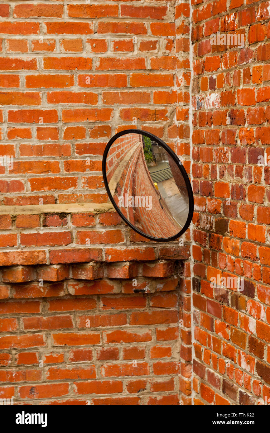 Security mirror on a wall stock photo royalty free image security mirror on a wall amipublicfo Gallery