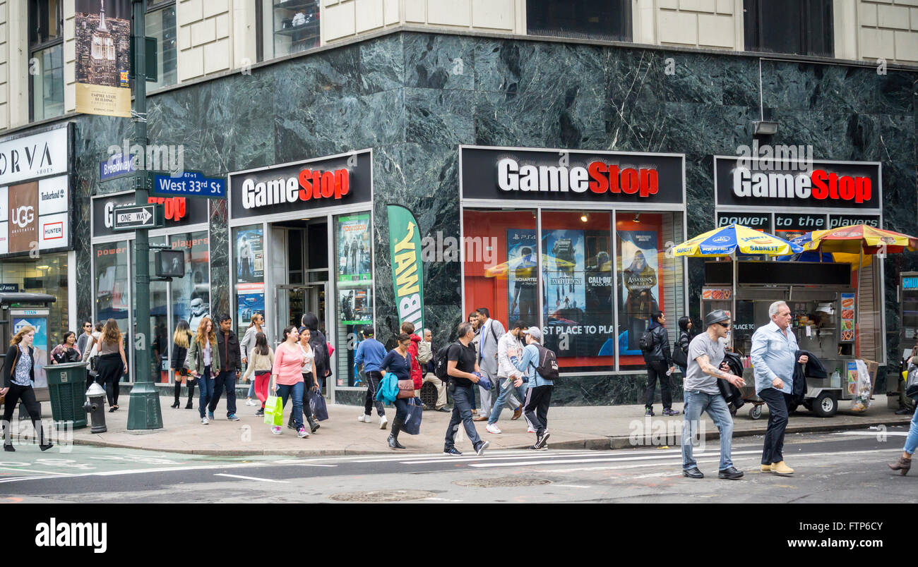 A gamestop video game store in new york on friday march 25 2016 a gamestop video game store in new york on friday march 25 2016 sciox Choice Image