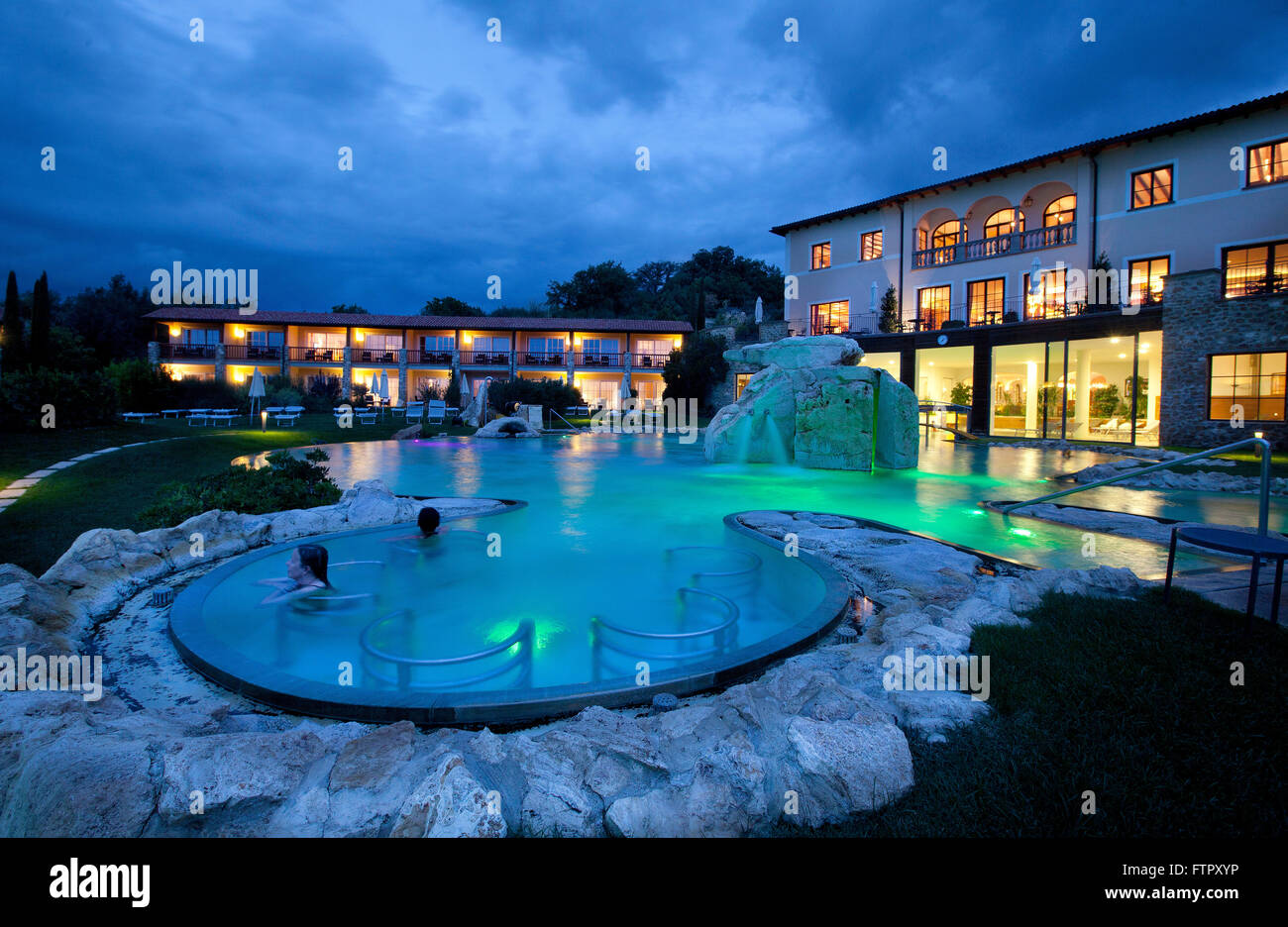 Hotel adler thermae spa relax resort bagno vignoni toscana stock photo royalty free image - Adler bagno vignoni hotel ...