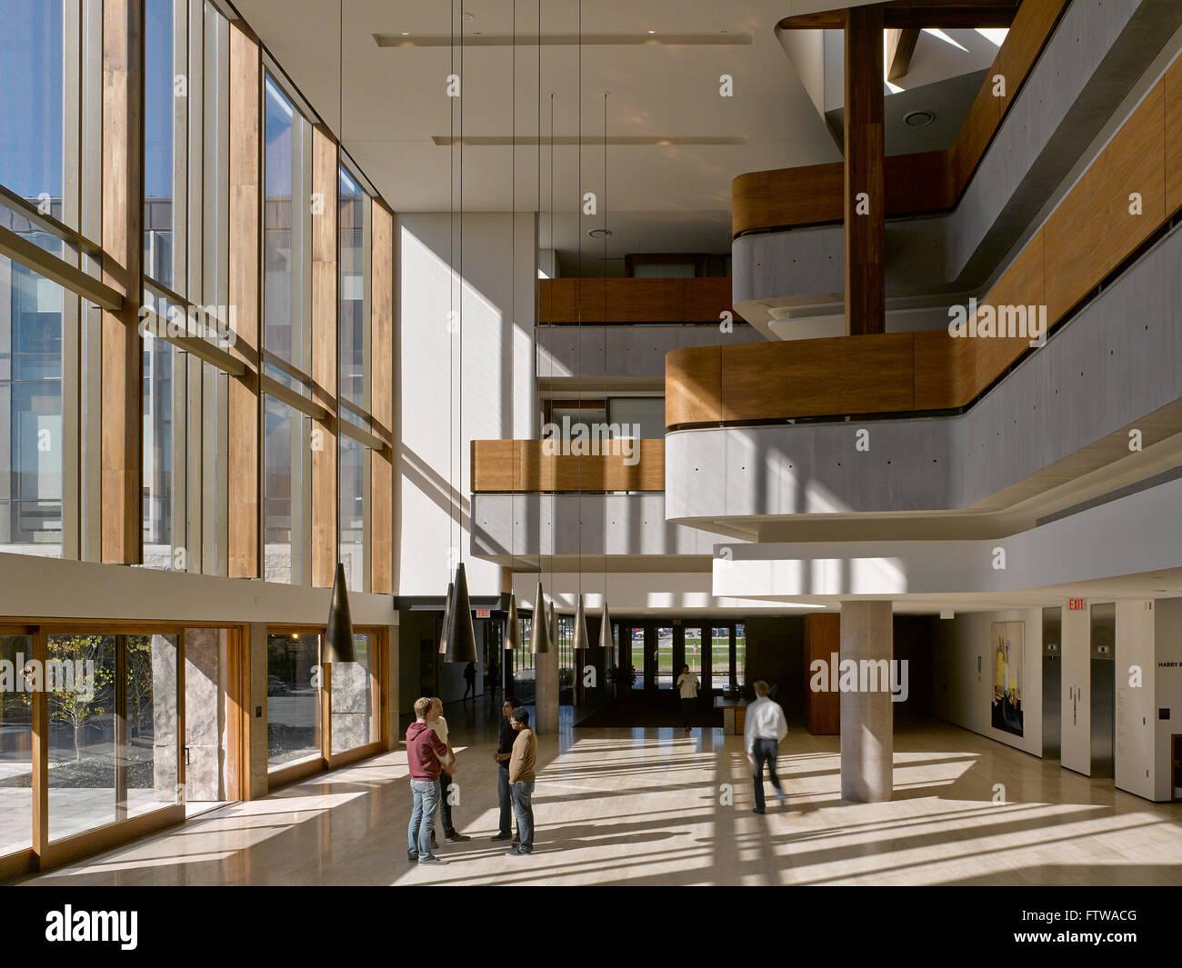 Great Hall Ivey Business School London Canada Architect Hariri Stock Photo 101360576 Alamy
