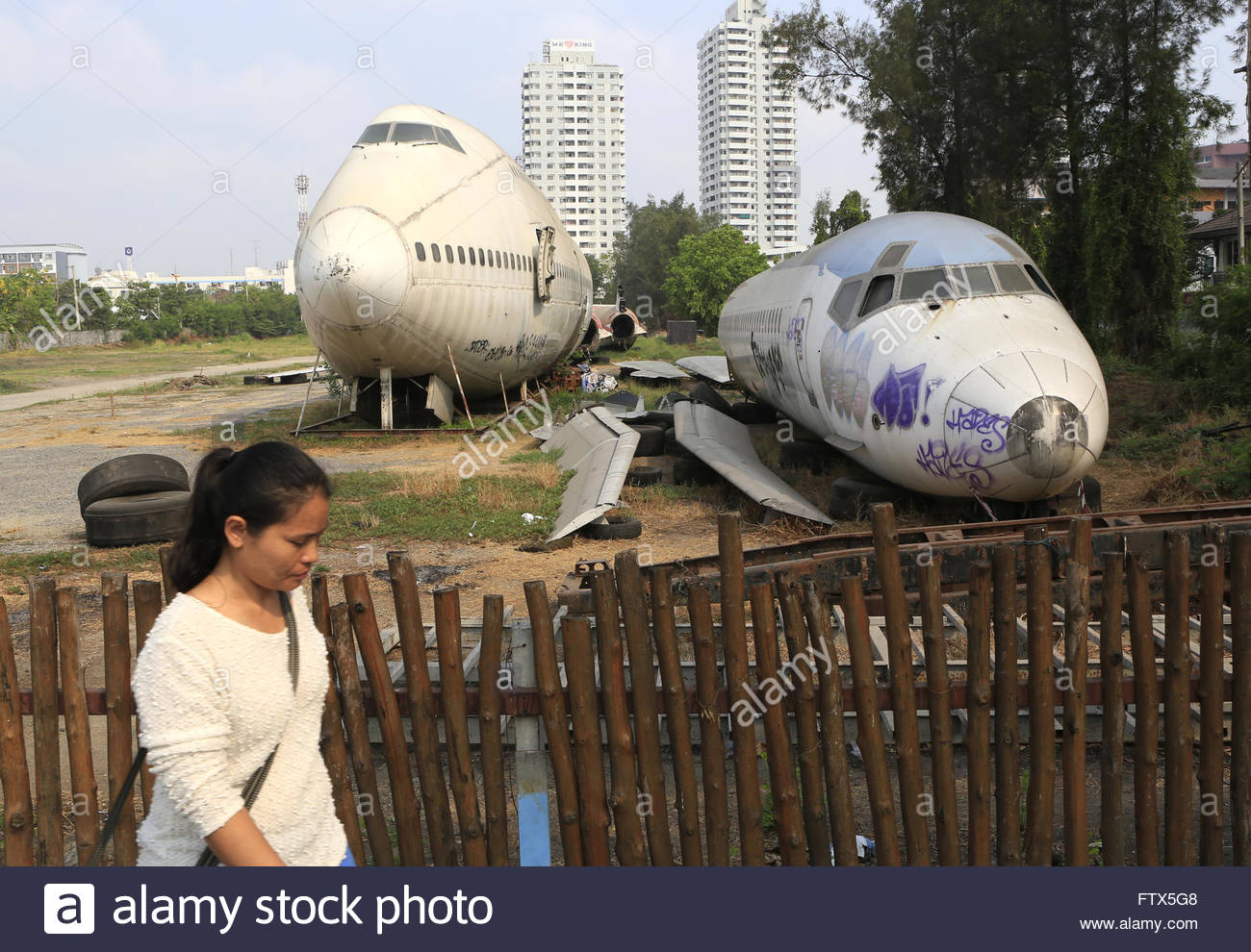 Camouflage And Stencils On The Tail Of Plane L-39m1 Stock Photo ...
