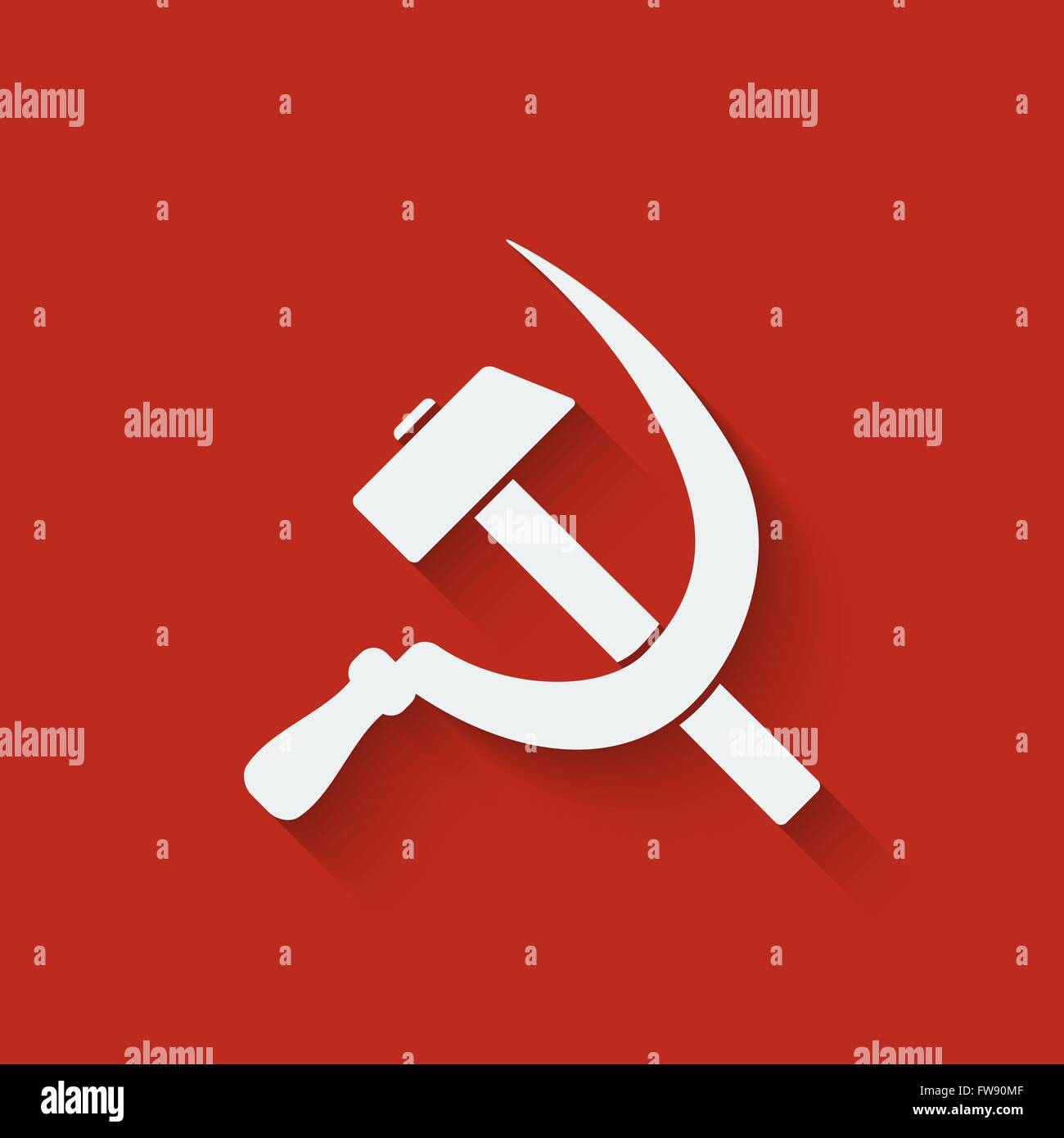 Hammer and sickle symbol red background vector illustration eps hammer and sickle symbol red background vector illustration eps 10 biocorpaavc Gallery