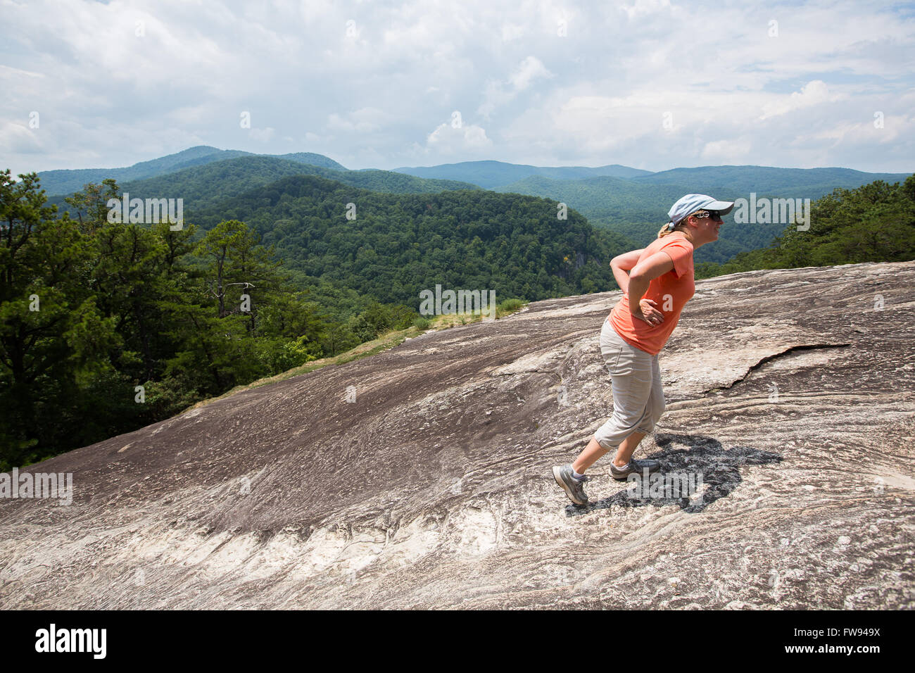 Hiking Table Rock Mountain In State Park South Carolina This Is Governors