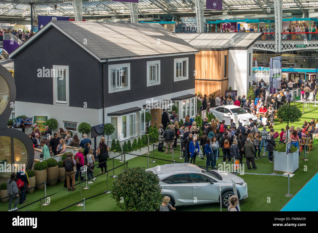 Ideal Home Exhibition Olympia London England A Traditionally - Home design show london