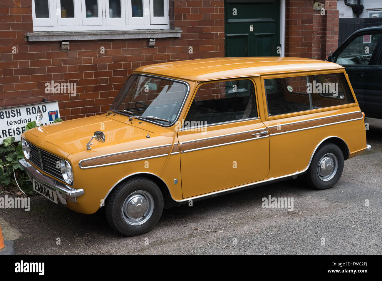 leyland austin mini clubman estate car stock photo royalty free image 101683866 alamy. Black Bedroom Furniture Sets. Home Design Ideas