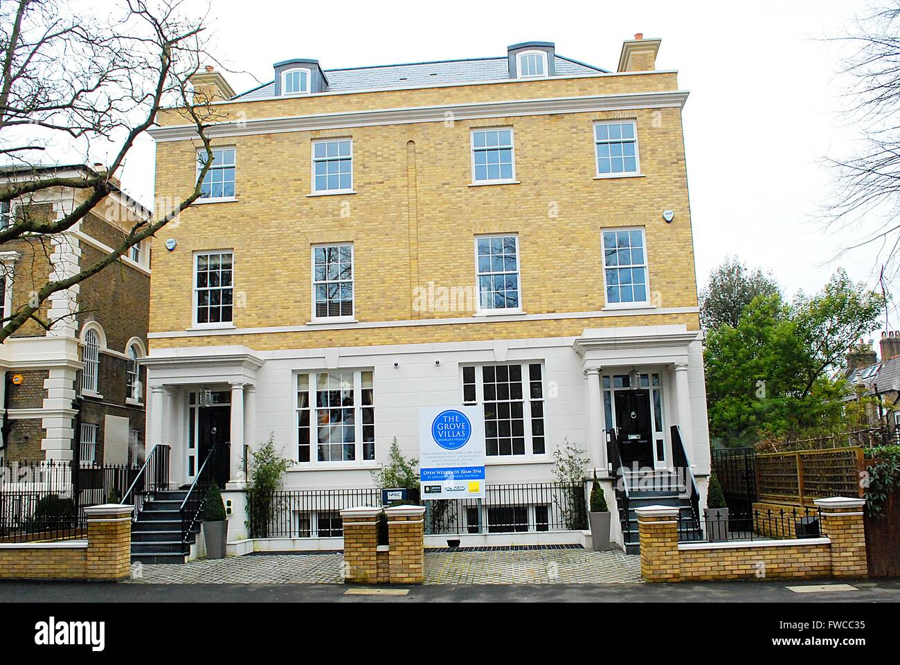 The grove the highgate in north london uk where for The grove house