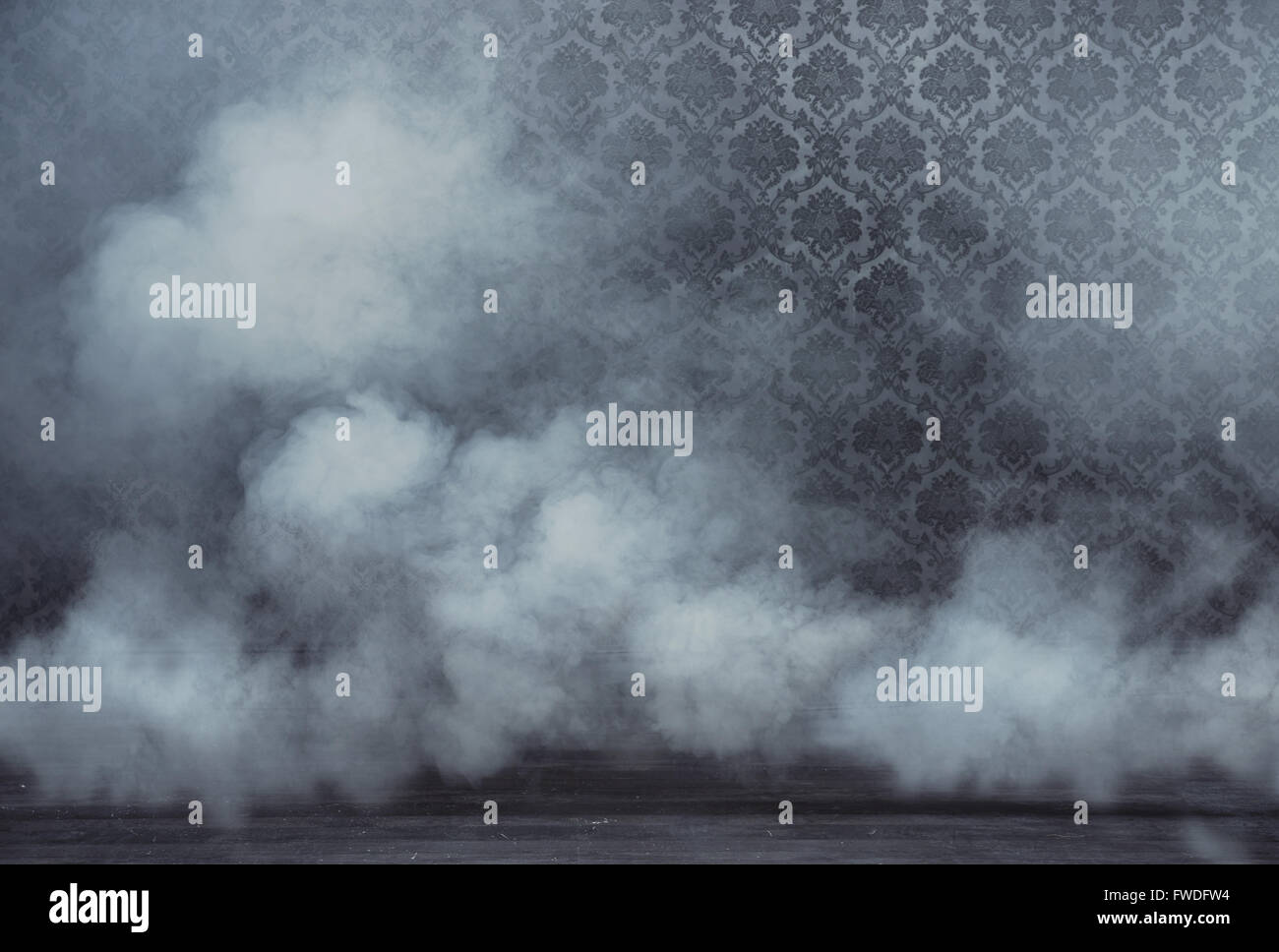 Creepy Shot Of A Smoky Room At Night Stock Photo   Getty Images