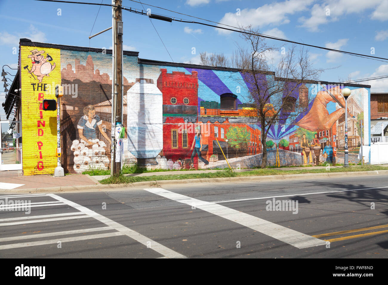big wall mural noda district charlotte north carolina usa big wall mural noda district charlotte north carolina usa