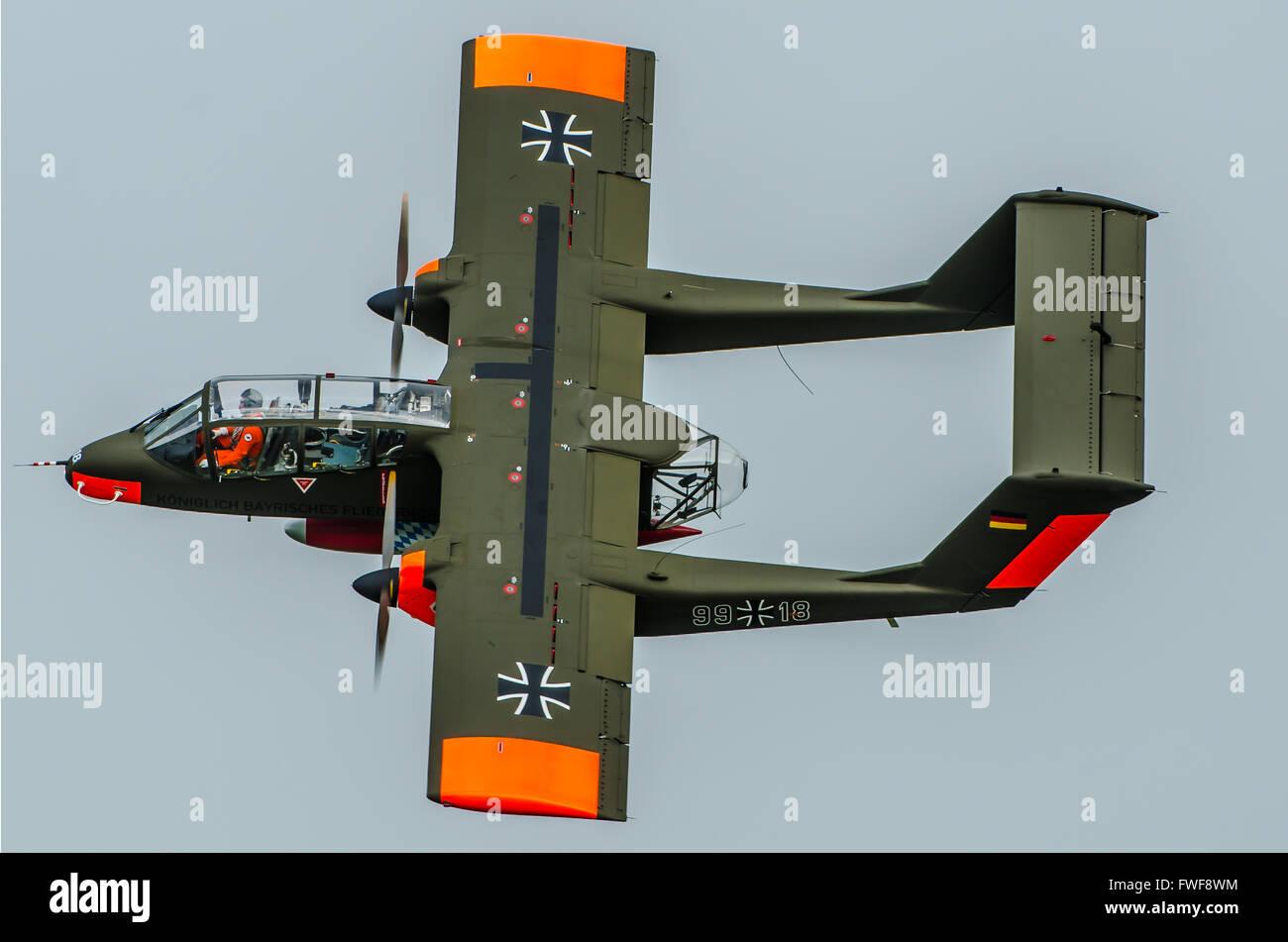 A north american rockwell ov 10b bronco owned flown by - De breuyn mobel ...