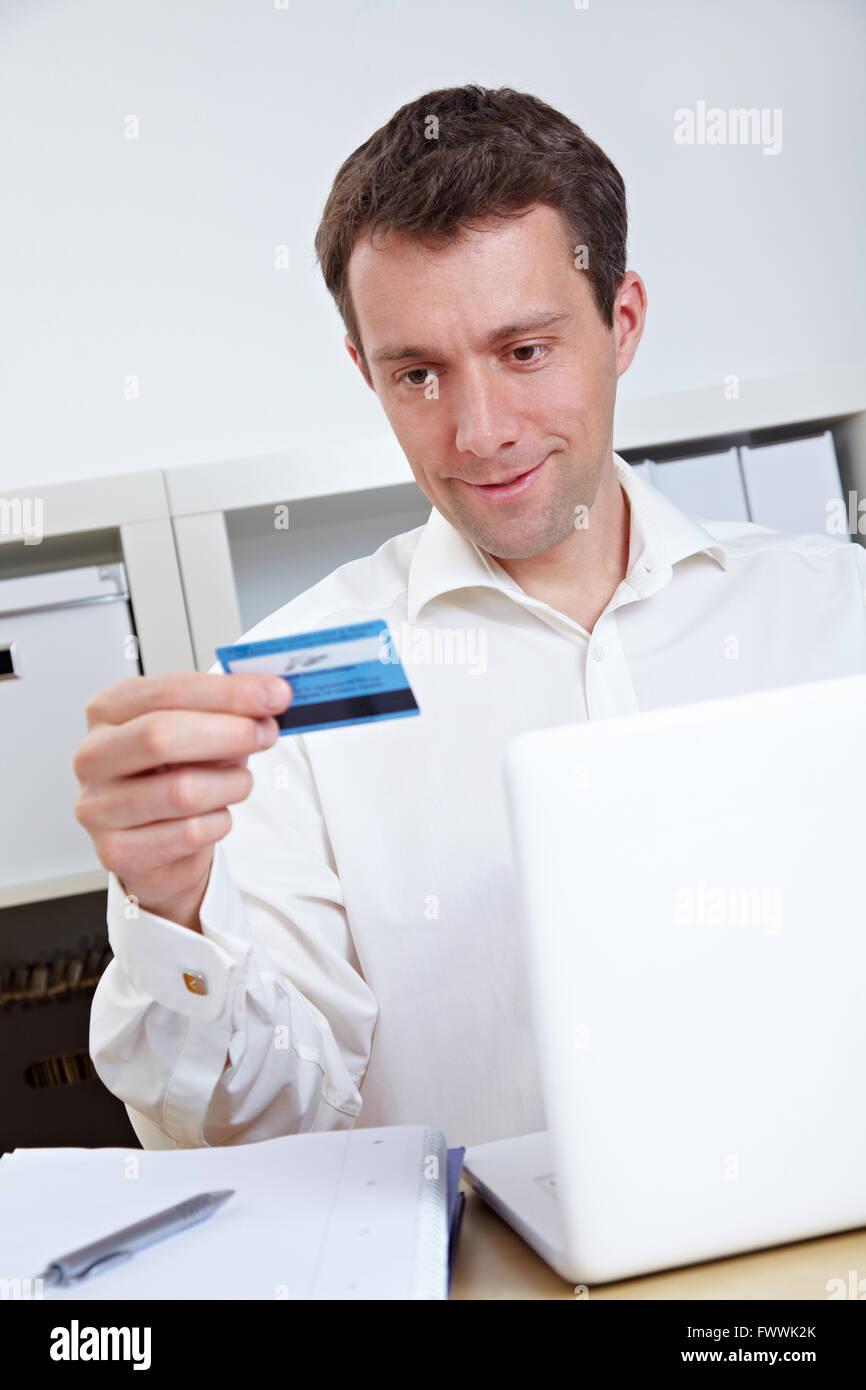Person Buying Online